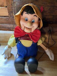 Vintage Pinocchio Puppet Singing Marionette
