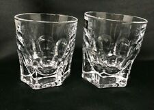 Crystal Glass Tumbler set of 6 Whiskey Vodka 10 oz Old Fashion Bohemia Czech