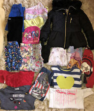 Girls clothes bundle 4-5 years autumn winter jumpers top leggings coat trousers