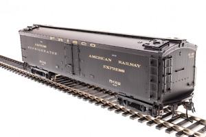"Broadway Limited # 1843  GACX 53'6"" Wood Express Reefer STLSF # 5012  HO MIB"