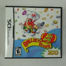 Jelly Belly Ballistic Beans Nintendo DS Zoo Studios Video Game Complete