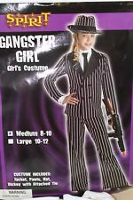 Gangster Girl Girl's Size Medium 8-10 Halloween Costume