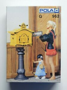 G Scale - POLA - #962 (3) Mailboxes For Model Train Layout NIB