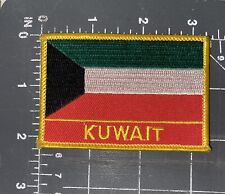 State of Kuwait National Country Flag Patch Badge Ensign Banner Middle East City