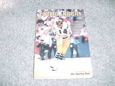 1980 NFL Football Register Media Guide San Diego Chargers Dan Fouts Cover
