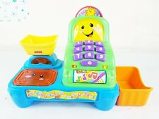 Fisher price battery operated toy till, coins & notes. 2012 by Mattel.