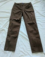 NYDJ Not Your Daughters Jeans Leopard Animal Print Skinny Ankle Jeans Size 2