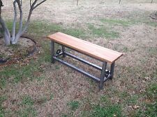 Hand Made Rustic Bench