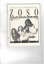 Rare Vintage Led Zeppelin Zoso Magazine February 1989 Vol 3 No 2 Ms1890