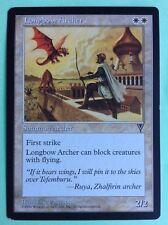 MTG MAGIC Carte LONGBOW ARCHER a L'arc Long Ext. VISIONS 1996