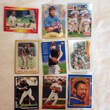 9 Baseball Cards-Ripken-Jackson-Parker-Canseco-Bolton-Johnson & More