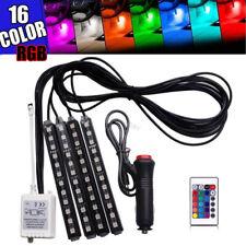 🔥 RGB LED Glow Car Interior Lamp Under Dash Footwell Seats Inside Lighting