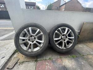 """Vauxhall Corsa 16"""" Alloy Wheels / Tyres X4"""