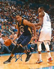ALEXIS AJINCA signed NEW ORLEANS PELICANS 8X10 PHOTO COA C