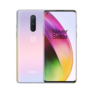 OnePlus 8 5G - 128GB - Interstellar Glow T-Mobile UNLOCKED  9/10