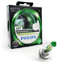 PHILIPS h7 12v COLORVISION Color Vision Green +60% più luce 2st 12972 cvpg