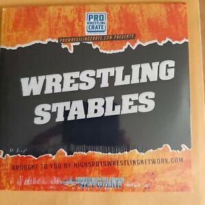 Pro Wrestling Crate DVD  Wrestling Stables. cm punk  adam page  eddie Guerrero