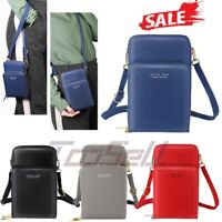 2020 Mini Cross-Body Cell Phone Holder Bag Shoulder Strap Wallet Pouch Bag Purse