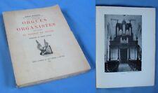 ORGUES et ORGANISTES des Églises du Diocèse de TROYES / Edmond Martinot 1941
