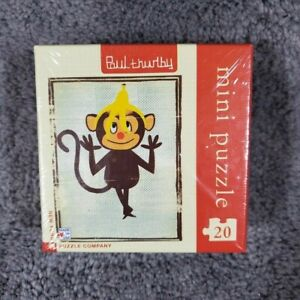 Paul Thurlby Silly Monkey Mini Puzzle NEW New York Puzzle Company