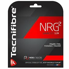 Tecnifibre Nrg2 17 (1.24mm) Tennis String - Natural - Auth Dealer - Reg $20
