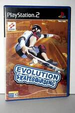 EVOLUTION SKATEBOARDING GIOCO USATO BUONO STATO PS2 VERSIONE SPAGNOLA VBC 32924
