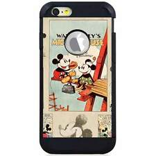 Apple iPod Touch 5/6 5th/6th Gen. Hybrid Case Cover Disney Mickey Mouse Old Cart