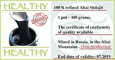 400g Shilajit Mumijo Asphaltum Mumiyo Mineral Pitch Salajeet