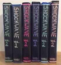 Shockwave Vol. 2 VHS Comp Cult Action Horror Found SOV Sleaze Comedy Rare OOP