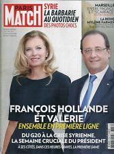 PARIS MATCH N° 3356--HOLLANDE ET VALERIE/MYLENE FARMER PHOTO