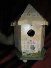 Baby Music Box Is A Bird House Pre Owned
