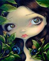 ART PRINT Poisonous Beauties I Belladonna - Jasmine Becket-Griffith 14x11 Poster