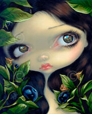ART PRINT Poisonous Beauties I Belladonna - Jasmine Becket-Griffith 14x11 Poster