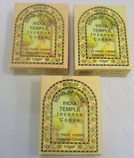Song of India Incense Cone: 75 Cones (3 x 25 Boxes) India Temple