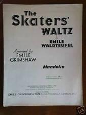 mandolin WALDTEUFEL - emile grimshaw SKATERS WALTZ