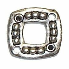 20 X Tibetan Silver Style Square Connector Joiner - A0449