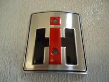 NEW Front Emblem Logo IH Farmall Super H M MTA HV W-4 W-6 W-9 WDR-9 357650R1