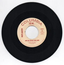 """NEW: 7"""" PATTI AUSTIN- Are We Ready For Love / Didn't Say A Word- EXS007"""