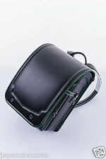 Kyowa 03-05745 Fuwaryi bag Combi Black / Deep Green JAPANESE SCHOOLBAG