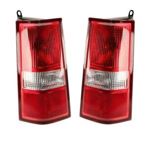 Left & Right Genuine Tail Brake Lights Lamps Pair Set for Chevy Express 1500 GMC
