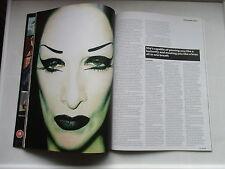 2008 DIAMANDA  GALAS  PLAN B MAGAZINE GREAT PHOTOS