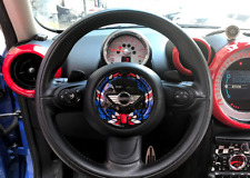Mini Cooper Steering Wheel Sticker Logo Badge Decal R55 R56 R60