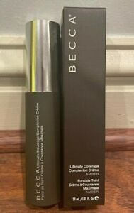 """BECCA Ultimate Coverage Complexion Creme """"Amber"""" NEW!!"""