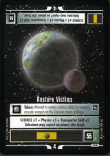 STAR TREK CCG VOYAGER RARE CARD RESTORE VICTIMS