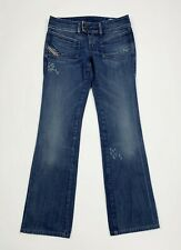Diesel hush ds jeans donna usato bootcut zampa flared used W28 tg 42 denim T5530