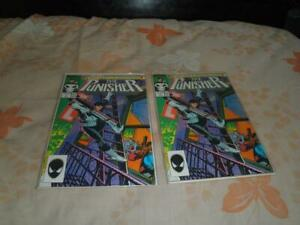 Lot of 2 Marvel Comics The Punisher #1 (july, 1987)