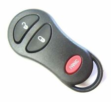 Plymouth keyless remote control 2000 Voyager entry transmitter clicker key fob