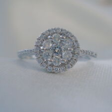 0.49ct Certified SI Clarity Diamond Gold Engagement Ring