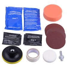 Car Headlight Lens Restorationt System Professional Restorer Polishing Tool Kit