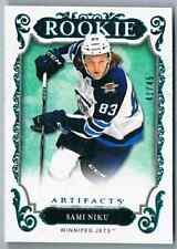 2018-19 ARTIFACT AQUA SAMI NIKU ROOKIE 41/45 WINNIPEG JETS #175